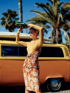Proenza Schouler dress, April 2012 Vogue