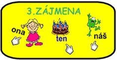 SLOVNÍ DRUHY :: Béčko-Tc Štístkové Education, Learning, School, Petra, Studying, Teaching, Onderwijs