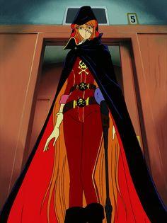 The Eternal Captain Harlock Queen Emeraldas, Harlock Space Pirate, Galaxy Express, Sci Fi Tv Shows, Star Blazers, Dungeons And Dragons Characters, China Girl, Manhwa Manga, Manga Comics