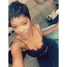 Keke Palmer Debuts A Short Pixie Cut At The Cinderella On Broadway Photo Call Read the article here - http://www.blackhairinformation.com/general-articles/celebrities/keke-palmer-debuts-short-pixie-cut-cinderella-broadway-photo-call/ #kekepalmer