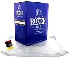 Boxer London dry gin box