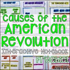 This FREE interactive notebook includes everything you need to teach a unit on the causes of the American Revolution in an engaging way! This resource covers the Stamp Act through the Declaration of Independence.The organizers in this resource can be used on their own, or as a supplement to student note.