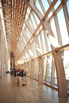Frank #Gehry's redesign of the Art Gallery of #Ontario #AGO in #Toronto #architecture #Canada