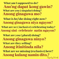 Tagalog Words, Tagalog Quotes, Filipino Culture, All Languages, Pinoy, Dreams, Learning, Tips, Philippines