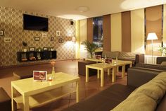 Our TV Lounge in AO Düsseldorf Hauptbahnhof