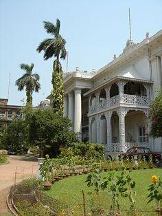 Marble Palace, Kolkata, India - built by Raja Rajendra Mullick in 1835.