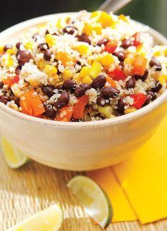 Recette Salade de quinoa mexicaine - Recettes du Québec