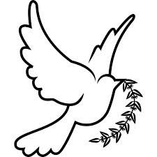 the dove symbolizes the holy spirit. This is a very popular why that holy spirit is depicted by the catholic church and in the bible.