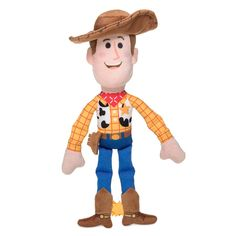 Baby will be happy to ride off into the sunset for snuggly bedtime when Woody comes along. This plush rattle of Toy Story's resident sheriff also makes a great playtime companion and features a soft hat brim and boots. Disney Dogs, Disney Mickey Mouse, Disney Store Uk, Resort Logo, Popular Kids Toys, Minnie Bow, Dog Pajamas, How To Make Animations, Disney Sketches
