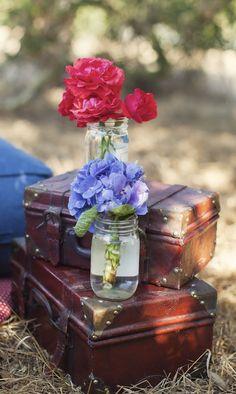 arranjo com flores