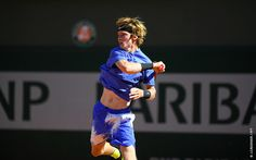 Andrey Rublev, Reilly Opelka and Casper Ruud lead the charge of the teenage brigade in men's qualifying on Monday at Roland-Garros. Young Guns, Tennis Players, Posters, Running, Celebrities, Roland Garros, Racing, Keep Running, Celebs