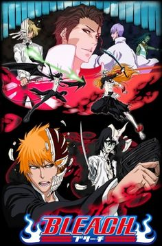 Bleach. This gives me more feels than you will ever know.