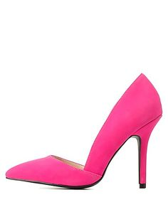 Pointed Toe D'Orsay Pumps: Charlotte Russe #CRshoecloset #heels
