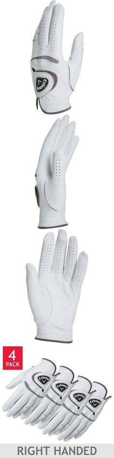 Golf Gloves 181135: Golf Glove, 4 Pack, Right Handed, Premium Cabretta Leather, Size S - 2Xl -> BUY IT NOW ONLY: $34.27 on eBay! #GolfGloves