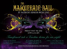 Masquerade Ball Invitation from TicketPrinting.com