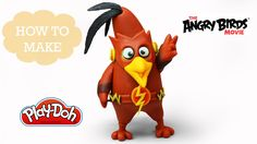 Play Doh Making ChuckFlash - The Angry Birds Movie & The Flash Inspired