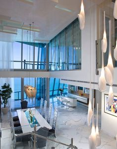 Tour a Magnificent & Lavish 2-Story Penthouse In Sunny Isles Beach, FL. http://theopulentlifestyle.org/tour-a-magnificent-lavish-2-story-penthouse-in-sunny-isles-beach-fl/