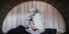 Matt Shumate Photography wedding cake at Glover Mansion wedding reception