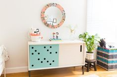 Kids Room Tour: a Playful, Eclectic, Shared Room