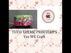 YWC tuto bracelet fleuri thème printemps