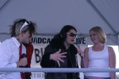 Frank Iero and Gerard Way
