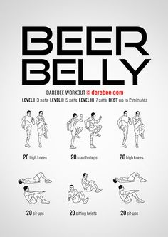Summer is coming! So it is time to lose the beer belly. - Summer is coming! So it is time to lose the beer belly. Fitness Workouts, Gym Workout Tips, Easy Workouts, At Home Workouts, Fitness Tips, Health Fitness, Workout Plans, Tummy Workout, Workout Bodyweight