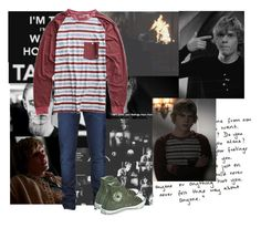 """Tate Langdon (Evan Peters) look"" by hollytreefashion ❤ liked on Polyvore"