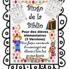 French Library Bingo Game is for a variety of ages from grade 1 - grade 9 (3 versions) to encourage reading of different genres. The Artsy French Teacher TPT $
