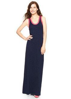 Gap contrast trim maxi dress, £39.95