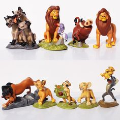 13.49$  Buy here - http://aling7.shopchina.info/go.php?t=32314592080 - 9Pcs/Set The Lion King Figures Simba Mufasa Nala Hyenas Timon Pumbaa Sarabi Sarafina Scar PVC Action Figure Dolls Toys 5~9cm 13.49$ #magazineonlinebeautiful