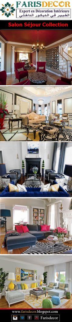 salon séjour /living-rooms models #House #interior #plafond