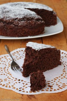 Chocolate Desserts, Chocolate Cake, Italian Cake, Burritos, Food Fantasy, Mocca, Sweet Bread, Cake Cookies, Sweet Recipes