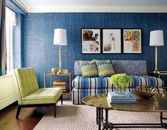 Jamie Drake interiors  Belle Vivir a designer's bookmark on style.