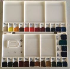 Folding Palette and recommendations for fill colors
