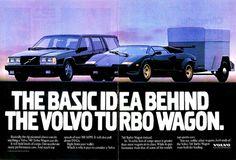 1989 Volvo 740 Turbo Wagon Ad