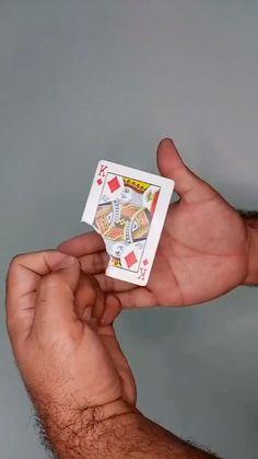 Magic Tricks Videos, Magic Tricks Tutorial, Magic Tricks For Kids, Easy Magic Card Tricks, Diy Crafts Hacks, Fun Crafts, Diy And Crafts, Paper Crafts, Resin Crafts