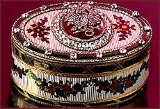 Jeweled Russian Imperial Snuff Box