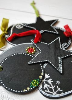 Dishfunctional Designs: Inspiration: Handmade Holiday Gift Tags
