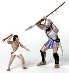 David and Goliath Figures | David and Goliath