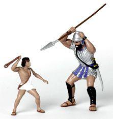 David and Goliath Figures | David and Goliath