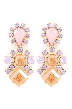 Lauren Earrings in Aspen on Emma Stine Limited Fashion Jewelry Necklaces, Cute Jewelry, Jewelry Box, Jewelry Rings, Jewelery, Jewelry Accessories, Jewelry Making, Pink Jewelry, Ring Bracelet