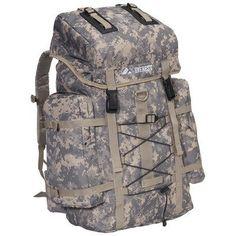Amazon.com: 24 Hiking Backpack in Digital Camo: Patio, Lawn & Garden