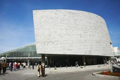 Egypt's Bibliotheca Alexandrina was completed in 2001 as a municipal library capable of containing four million books within its walls.