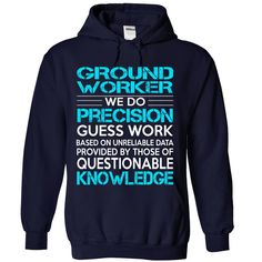 Awesome Shirt For Ground Worker T-Shirts, Hoodies. GET IT ==► https://www.sunfrog.com/LifeStyle/Awesome-Shirt-For-Ground-Worker-6431-NavyBlue-Hoodie.html?41382