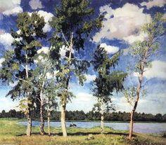 On the Lake - (Igor Emmanuilovich Grabar)