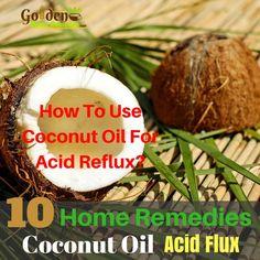 Coconut Oil For Acid Reflux - Acid Reflux Relief