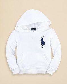 Ralph Lauren Childrenswear Boys' Big Pony Hoodie - Sizes 2-7 | Bloomingdale's