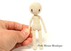 1000+ images about Amigurumi - doll body pattern on ...