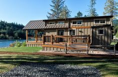 a 400 sq. ft. San Juan Park Model Tiny Home by West Coast Homes and architect Mark Ouellette.
