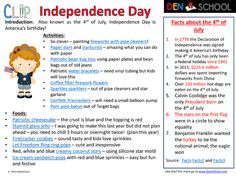 #4th of July #Independence Day CLIP – fun and educational activities and #printable #homeschool math worksheets, vocabulary puzzles and more for the 4th of July